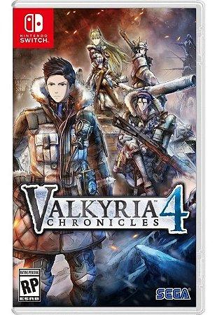 Jogo Switch Novo Valkyria Chronicles 4