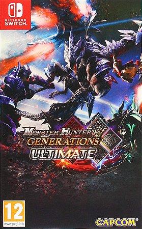 Jogo Switch Novo Monster Hunter Generations Ultimate