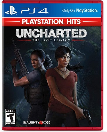 Jogo PS4 Novo Uncharted: The Lost Legacy (Playstation Hits)
