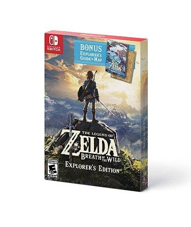 Jogo Switch Usado Zelda: Breath of the Wild (Explorer's Edition)