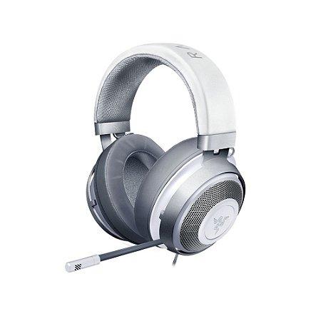 Headset Usado Razer Kraken 7.1 Mercury White