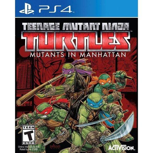 Jogo PS4 Usado Teenage Mutant Ninja Turtles: Mutants in Manhattan