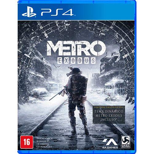 Jogo PS4 Usado Metro Exodus
