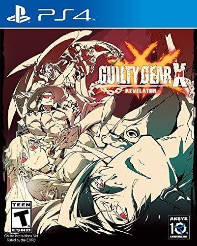 Jogo PS4 Usado Guilty Gear XRD Revelator