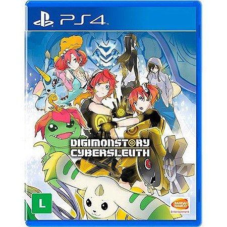 Jogo PS4 Usado Digimonstory Cybersleuth