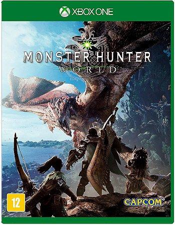Jogo XBOX ONE Usado Monster Hunter World