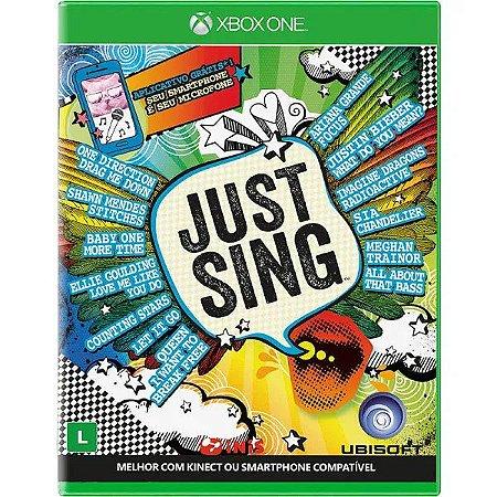 Jogo XBOX ONE Novo Just Sing