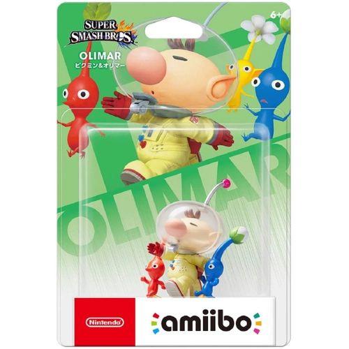 Amiibo Novo Pikmin & Olimar (Super Smash Bros)