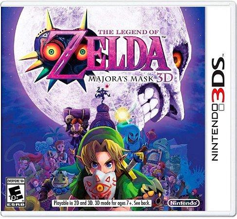 Jogo 3DS Usado The Legend of Zelda: Majora's Mask 3D