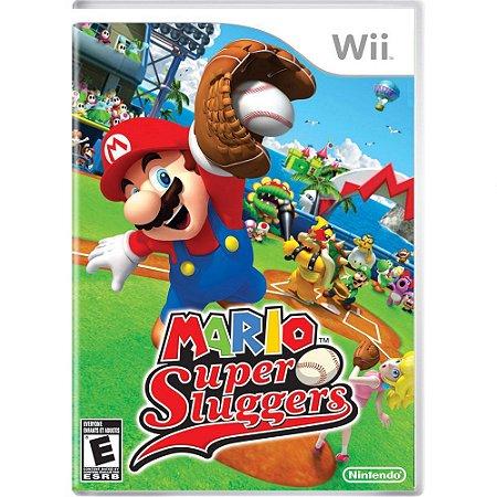 Jogo Wii Usado Mario Super Sluggers