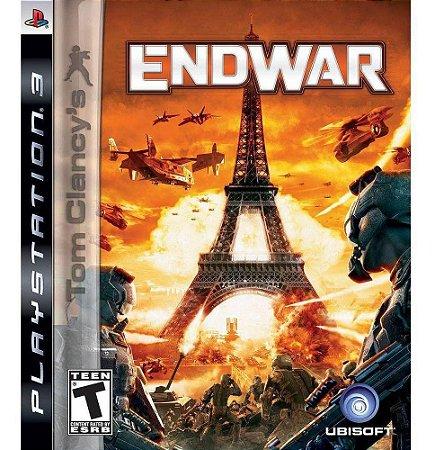 Jogo PS3 Usado Tom Clancy's Endwar