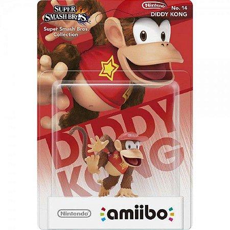 Amiibo Novo Diddy Kong (Super Smash Bros)