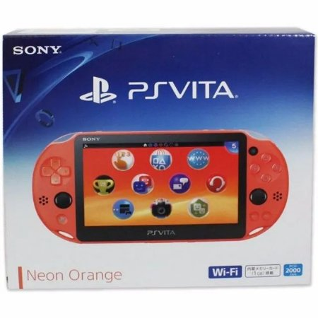 Console Usado PSVita Slim 4GB (Neon Orange)