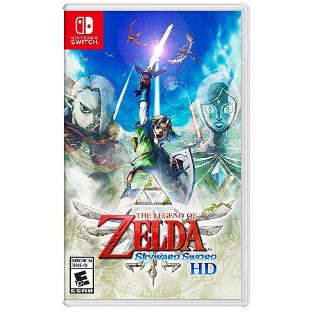 Jogo Switch Novo The Legend of Zelda: Skyward Sword HD