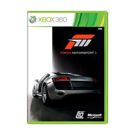 Jogo XBOX 360 Usado Forza Motorsport 3