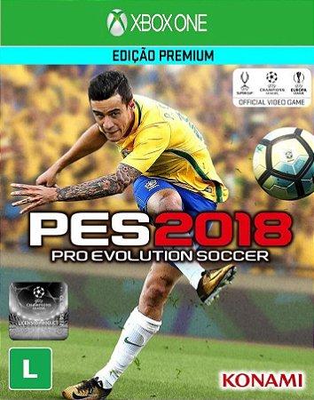 Jogo XBOX ONE Novo PES 2018 (Edição Premium)