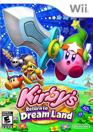 Jogo Wii Usado Kirby's Return to Dream Land