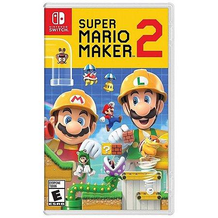 Jogo Switch Usado Super Mario Maker 2