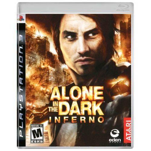 Jogo PS3 Usado Alone in the Dark: Inferno