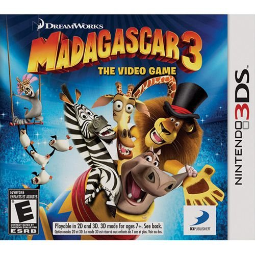 Jogo 3DS Usado Madagascar 3: The Video Game