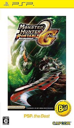 Jogo PSP Usado Monster Hunter Portable 2nd G (JP)