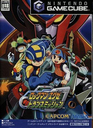 Jogo GameCube Usado Rockman Network Transmission (JP)