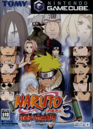 Jogo GameCube Usado Naruto: Gekito Ninja Taisen 3 (JP)