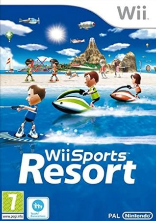 Jogo Wii Usado Wii Sports Resort (JP)