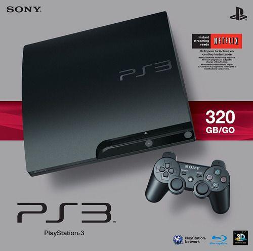 Console Usado PS3 Slim 320GB