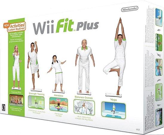 Jogo Wii Usado Wii Fit Blue com Balance Board