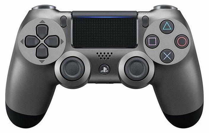 Controle PS4 Usado Dualshock 4 Steel Black