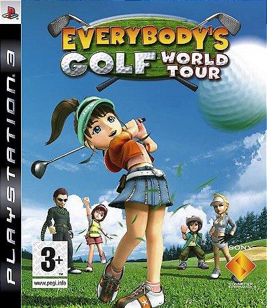 Jogo PS3 Usado Everybody's Golf 5 (World Tour)