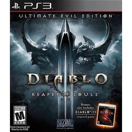 Jogo PS3 Usado Diablo III: Ultimate Evil Edition