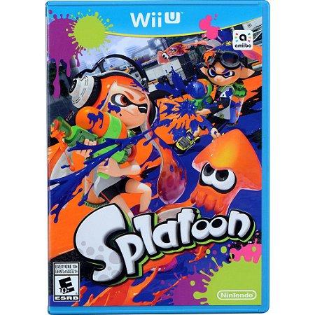 Jogo WiiU Usado Splatoon