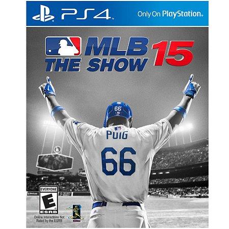 Jogo PS4 Usado MLB The Show 15