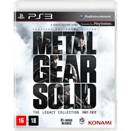 Jogo PS3 Usado Metal Gear Solid: The Legacy Collection (1987-2012)