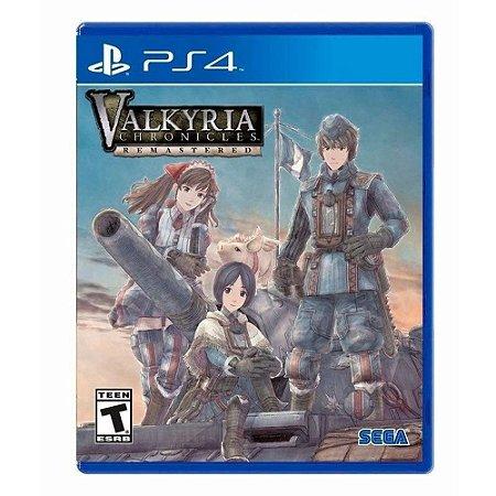 Jogo PS4 Usado Valkyria Chronicles Remastered