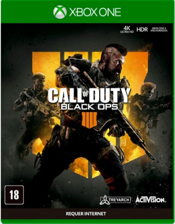Jogo Call of Duty Black OPS 4 Xbox One Usado