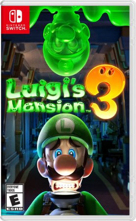 Jogo Luigi's Mansion 3 Nintendo Switch Novo