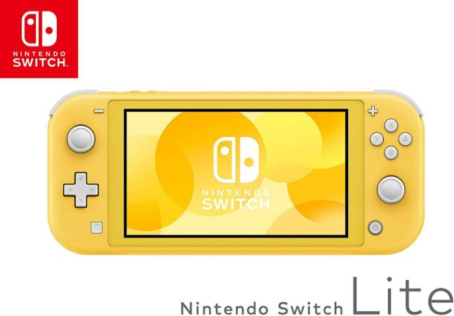 Console Nintendo Switch Lite Yellow Novo