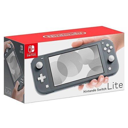 Console Nintendo Switch Lite Grey Novo