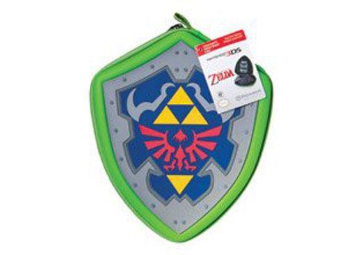Periférico Case Hylian Shield Nintendo 3DS Nova