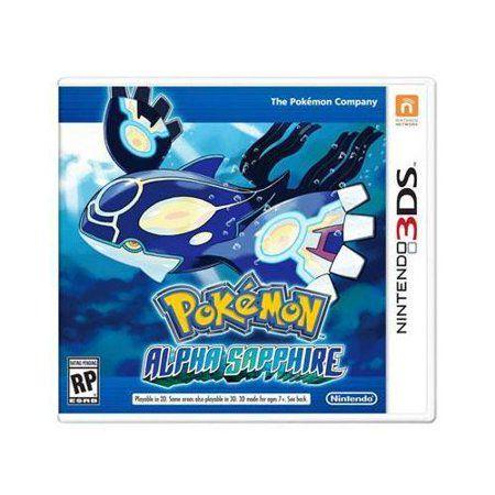 Jogo Pokémon Alpha Sapphire Nintendo 3DS Novo