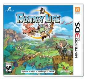 Jogo Fantasy Life 3DS Usado