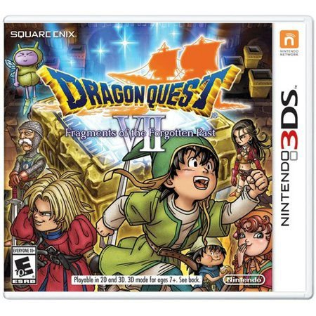 Jogo Dragon Quest - VII Fragments of The Forgotten Past - Nintendo 3DS Usado
