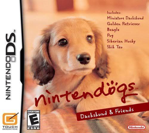 Jogo Nintendogs: Daschund & Friends Nintendo DS Usado