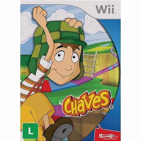 Jogo Chaves Nintendo Wii Usado