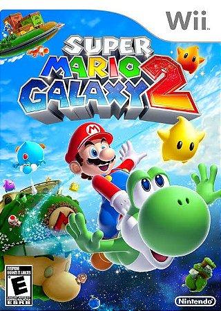 Jogo Super Mario Galaxy 2 Nintendo Wii Usado