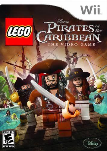 Jogo Lego Piratas do Caribe Nintendo Wii Usado