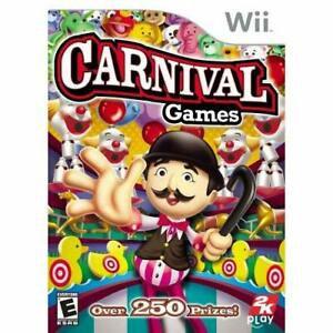Jogo Carnival Games Nintendo Wii Usado